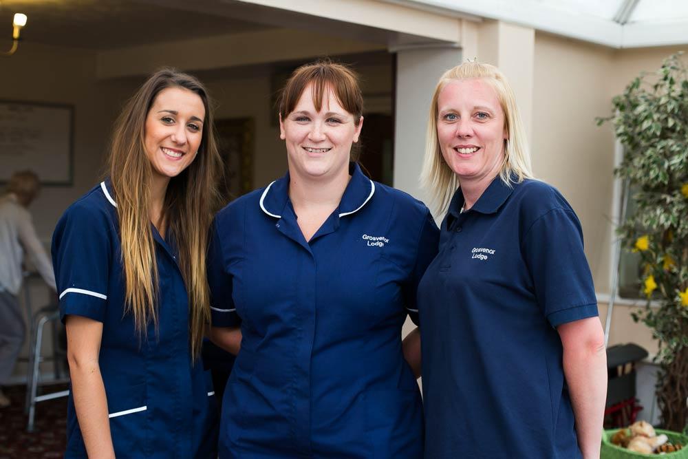 Our team of nursing staff