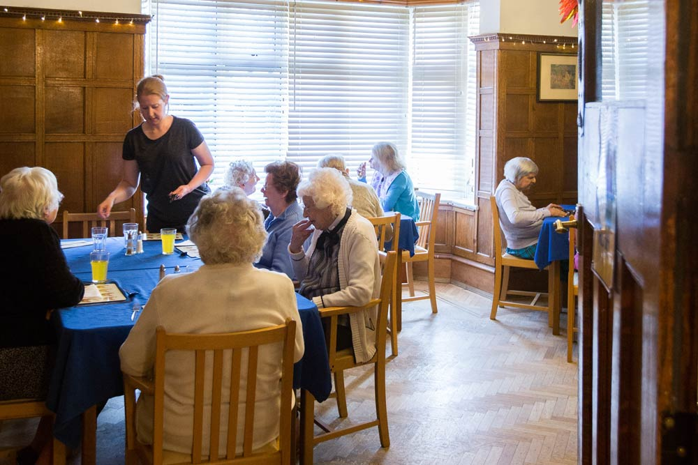 Our Dining Room - Grosvenor Lodge Care Home Hove