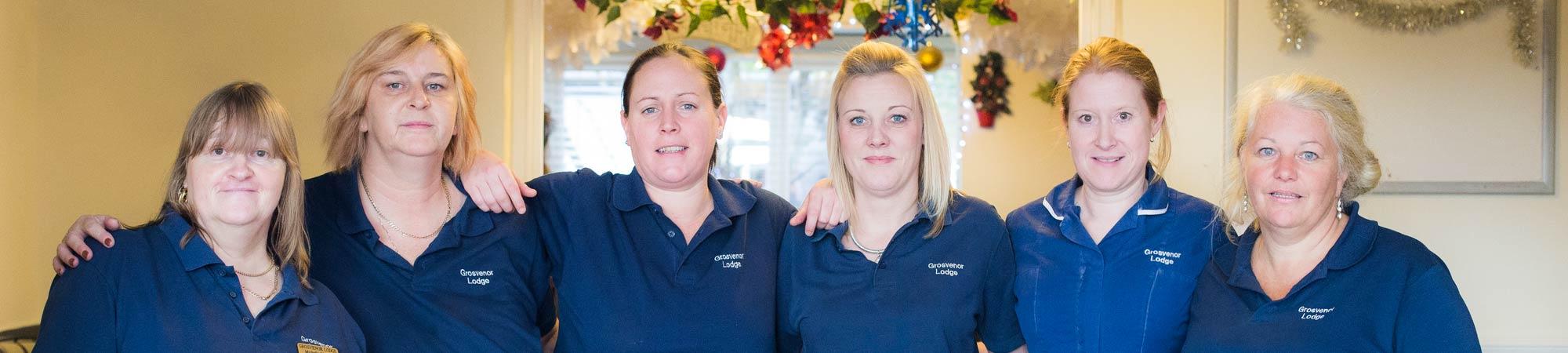 our nursing team - Grosvenor Lodge care home hove