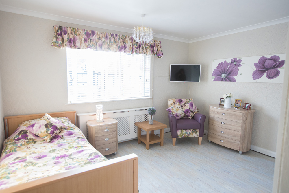 Our Rooms - Grosvenor Lodge Care Home Hove