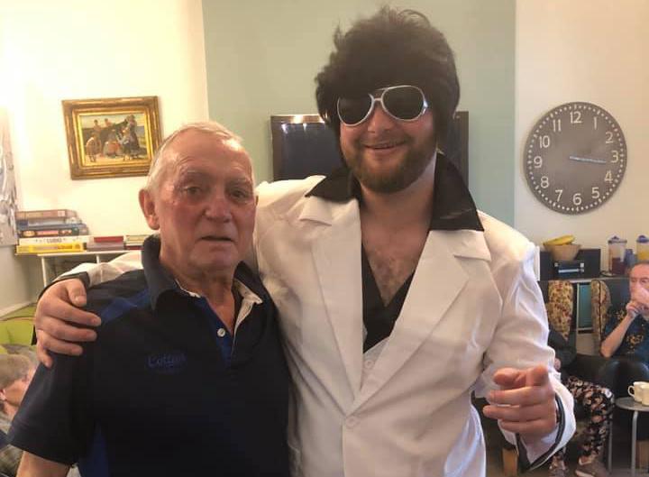 Elvis grosvenor lodge care home hove